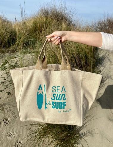 Cabas Sea Sun & Surf (turquoise)